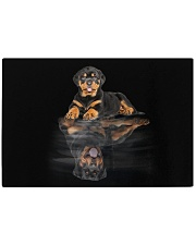 Rottweiler Believe In Yourself 2310 Rectangle Cutting Board front