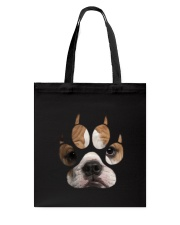 Bulldog Paw  Tote Bag tile