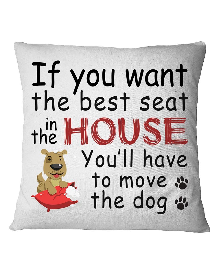 House Dog  Square Pillowcase
