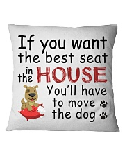 House Dog  Square Pillowcase front