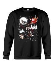Border Collie Reindeers Crewneck Sweatshirt thumbnail