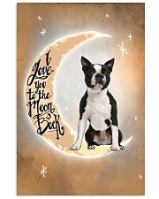 Boston Terrier I Love You Poster 2612  11x17 Poster front