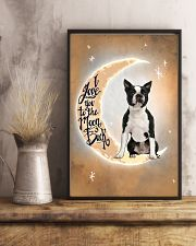 Boston Terrier I Love You Poster 2612  11x17 Poster lifestyle-poster-3