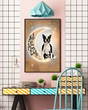 Boston Terrier I Love You Poster 2612  11x17 Poster lifestyle-poster-6