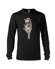 Siberian husky zip Long Sleeve Tee thumbnail