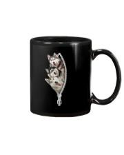 Siberian husky zip Mug thumbnail
