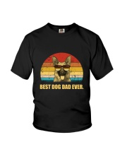 German Shepherd Best Dad Ever 1503 Youth T-Shirt thumbnail