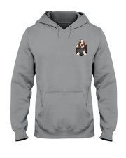 Basset Hound Pocket 4 Hooded Sweatshirt thumbnail