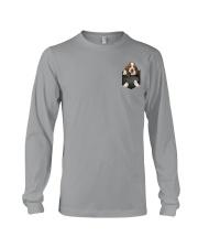 Basset Hound Pocket 4 Long Sleeve Tee thumbnail
