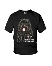 Portuguese Water Dog Awesome Family 0701 Youth T-Shirt thumbnail