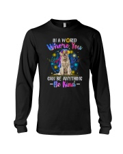 Golden Retriever and hippie Long Sleeve Tee thumbnail
