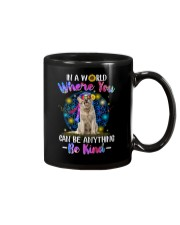 Golden Retriever and hippie Mug thumbnail