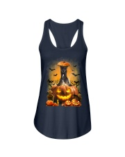 Greyhound And Pumpkin Ladies Flowy Tank thumbnail