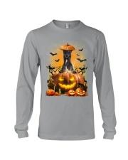 Greyhound And Pumpkin Long Sleeve Tee thumbnail