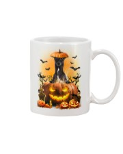 Greyhound And Pumpkin Mug thumbnail
