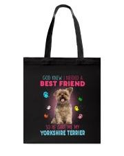 Yorkie best friend 2507 Tote Bag thumbnail