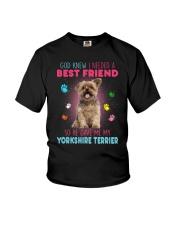 Yorkie best friend 2507 Youth T-Shirt thumbnail