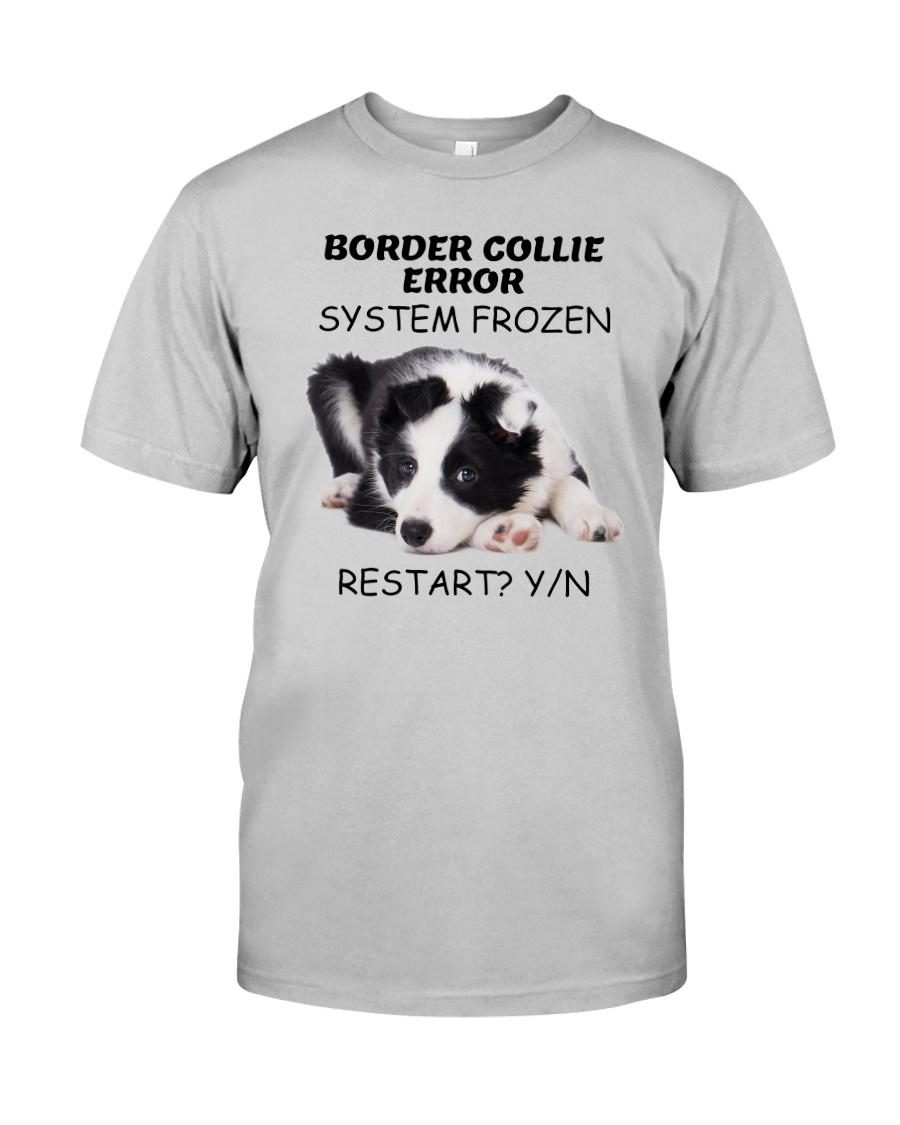 Border collie error 1606L Classic T-Shirt