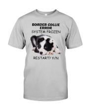 Border collie error 1606L Classic T-Shirt front