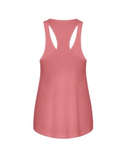 Border collie error 1606L Ladies Flowy Tank back