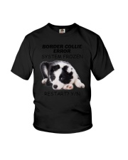 Border collie error 1606L Youth T-Shirt tile