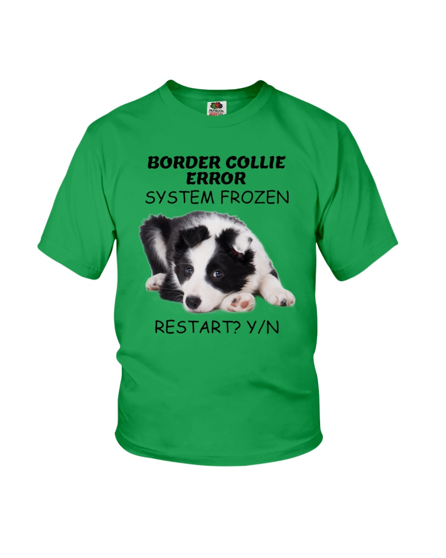 Border collie error 1606L Youth T-Shirt