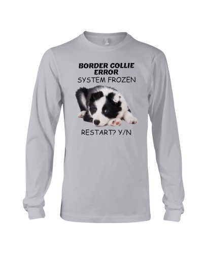 Border collie error 1606L