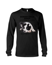 Border collie error 1606L Long Sleeve Tee tile