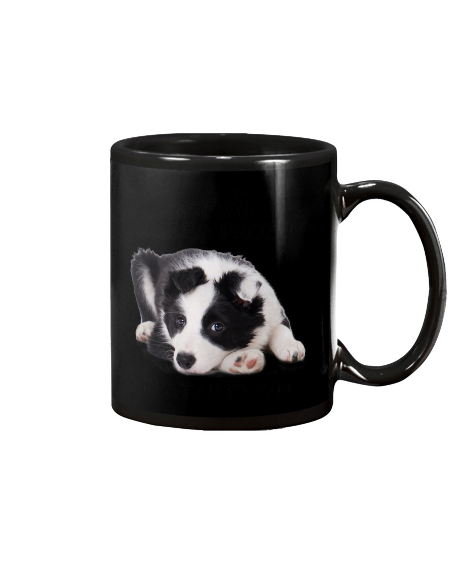 Border collie error 1606L Mug