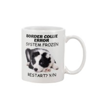 Border collie error 1606L Mug tile