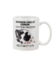 Border collie error 1606L Mug front