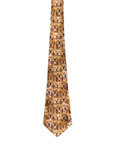 Golden Retriever Amazing Tie 1712