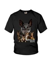Australian Kelpie Awesome Family 0501 Youth T-Shirt thumbnail