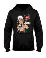 Shiba Inu Reindeers - 0711 - 29 Hooded Sweatshirt thumbnail