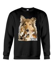 Collie Awesome Family 0701 Crewneck Sweatshirt thumbnail