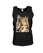 Collie Awesome Family 0701 Unisex Tank thumbnail