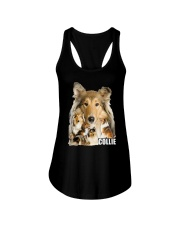 Collie Awesome Family 0701 Ladies Flowy Tank thumbnail