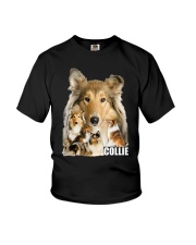Collie Awesome Family 0701 Youth T-Shirt thumbnail