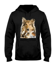Collie Awesome Family 0701 Hooded Sweatshirt thumbnail