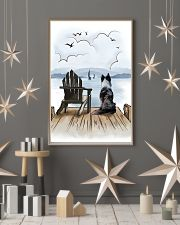 Border Collie Waiting 11x17 Poster lifestyle-holiday-poster-1