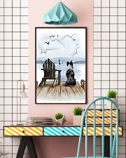Border Collie Waiting 11x17 Poster lifestyle-poster-6
