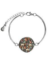 German Shepherd Halloween 2607 Metallic Circle Bracelet thumbnail