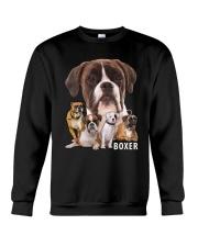 Boxer Awesome Crewneck Sweatshirt front