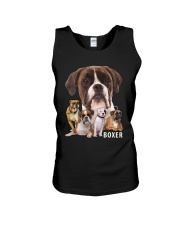 Boxer Awesome Unisex Tank tile