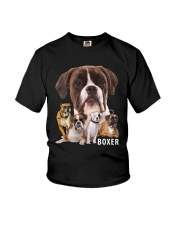 Boxer Awesome Youth T-Shirt thumbnail