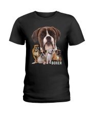 Boxer Awesome Ladies T-Shirt tile
