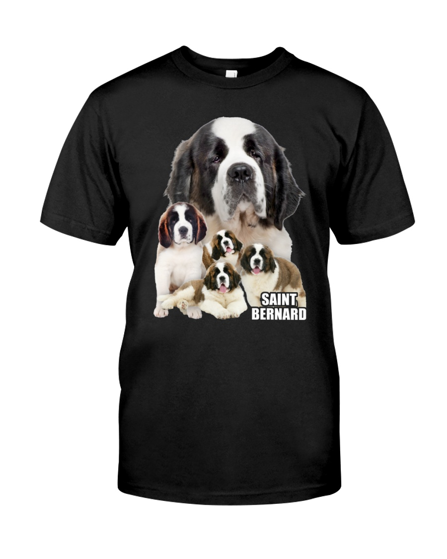 Saint Bernard Awesome Family 0701 Classic T-Shirt