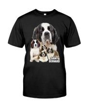 Saint Bernard Awesome Family 0701 Classic T-Shirt front