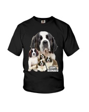 Saint Bernard Awesome Family 0701 Youth T-Shirt thumbnail