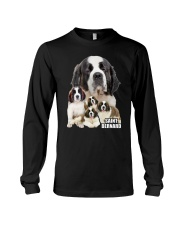 Saint Bernard Awesome Family 0701 Long Sleeve Tee thumbnail